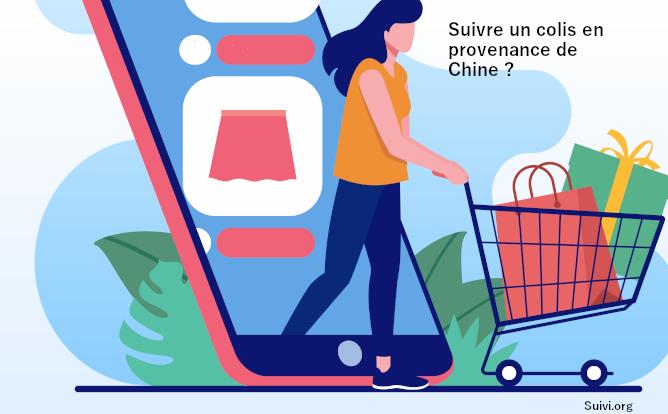 Comment suivre un colis venant de Chine ?