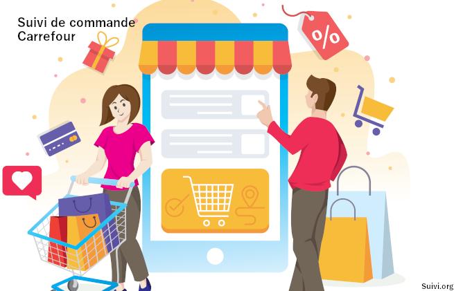 Suivi de votre commande sur Carrefour.fr
