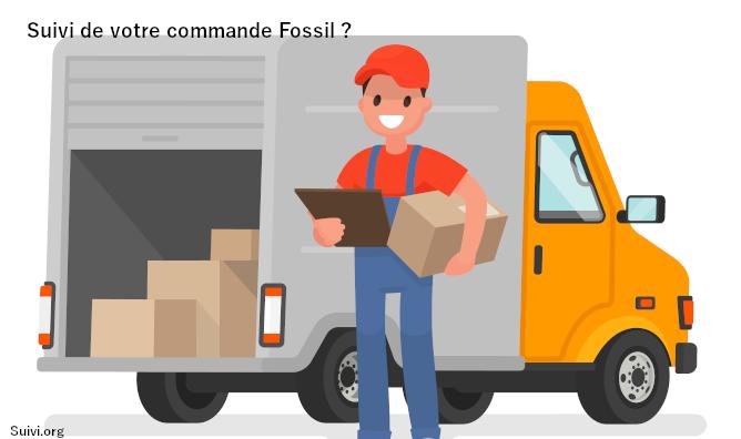 Suivi de commande sur le site Fossil