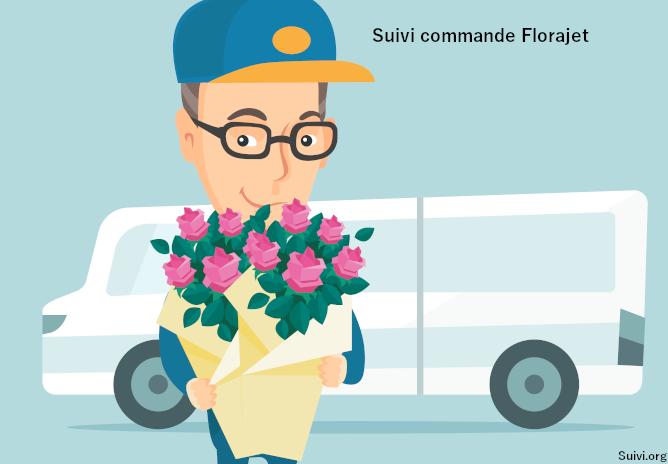 Effectuer le suivi de votre commande Florajet